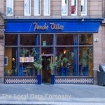 This cheerful and friendly restaurant is situated in the heart of the Merchant City area of Glasgow.  Pancho Villa's is predictably Mexican, with vibrant décor, bright Mexican art and colourful Mexican music.