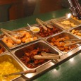 As the name suggests, China Buffet King restaurants are all buffet style. You are seated at a table, order your drinks and then head on up to the buffet to 'fill yer boots'.