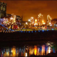 Although not strictly in Glasgow, the Paisley Christmas lights switch on is a great Christmas event that is just a short 10 minute train ride away from Glasgow city centre.