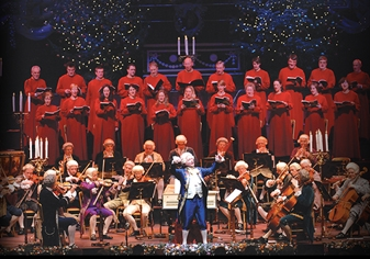 Carols by Candlelight at the Royal Concert Hall