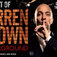Derren Brown: Underground' is a collection of some of the very best of Derren's previous stage work and it's coming to Galsgow, June 2018.