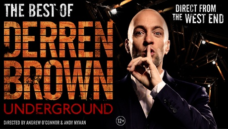Derren Brown Underground Glasgow