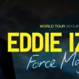 Two-time Emmy award winner Eddie Izzard is back on tour in the UK. He is bringing his Force majeure tour to Glasgow for one night in June this year.
