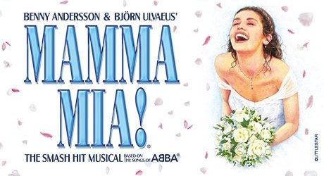 Join the ultimate feel-good party at MAMMA MIA!, the world's sunniest and most exhilarating smash-hit musical! See it at Glasgow's Theatre Royal December 2017.