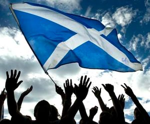 St Andrew's Day George Square