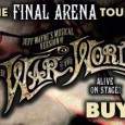 Back by phenomenal demand, Jeff Wayne's Musical Version of The War of The Worlds will invade Glasgow's on the 29th of November 2014. It will be the for the sixth and final time the show has been on tour.