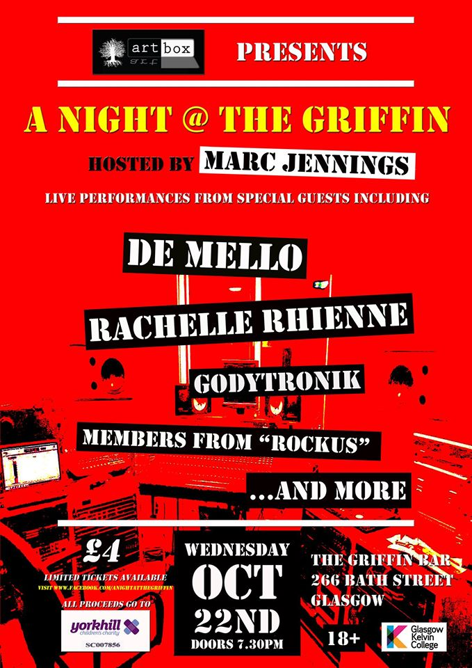 "Artbox presents ""A Night @ The Griffin"""