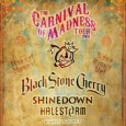 The debut UK Carnival of Madness tour has been announced for 2016, with Black Stone Cherry, Shinedown, Halestorm and Highly Suspect, all playing in the SSE Hydro for one night in February!