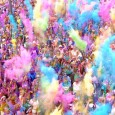 In May 2016 the world's funnest run, Colour Me Rad, is coming back to Glasgow!