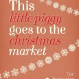 The Crafty Pig is playing host to the last This little Piggy Artisan Market of the year coupled with a great big Christmas Party, all in aid of a local food bank.