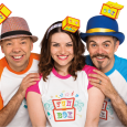 Anya, Kevin & Gary (formerly of The Singing Kettle) are back with a brand new family show, Fun Box, and are bringing it to Glasgow's Royal Concert Hall in December!