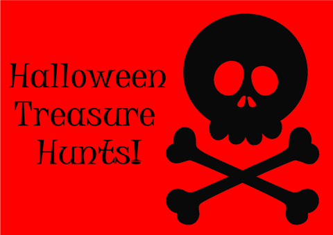 Scary Mary's Slightly Spooky Treasure Hunts!