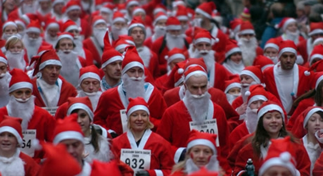 The Glasgow Santa Dash