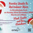 Celebrate the festive season by walking, jogging or running 6k around the park in support of St Andrew's Hospice.