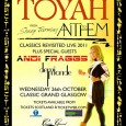Exclusive Scottish gig date at the Classic Grand